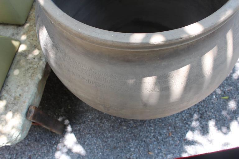 Modern Antique Terracotta Storage Jar For Sale