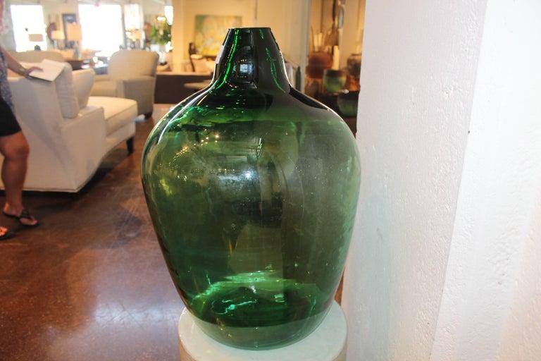 antique french dame jeanne wine bottle for sale at 1stdibs. Black Bedroom Furniture Sets. Home Design Ideas
