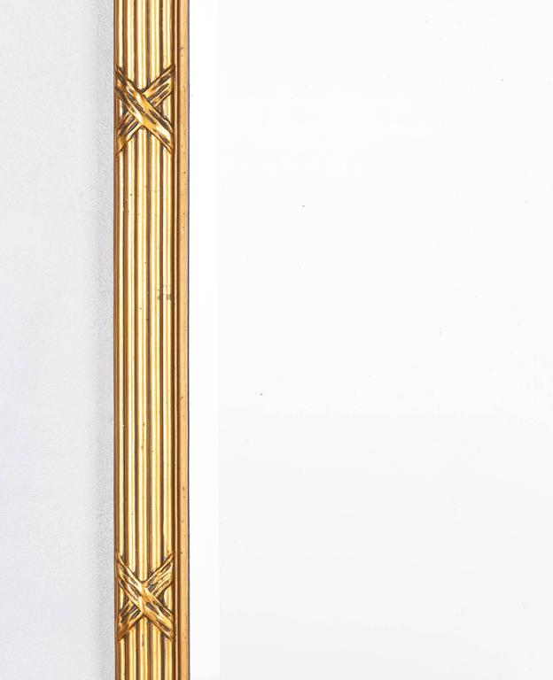 Louis XVI Style Giltwood Mirror, circa 1930s For Sale 2