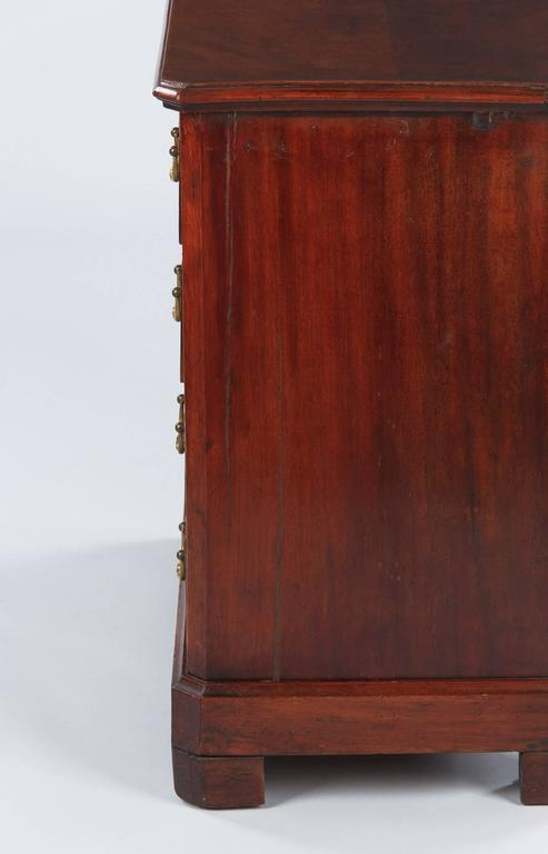 19th Century Louis Philippe Style Mahogany Chest of Drawers, Late 1800s For Sale