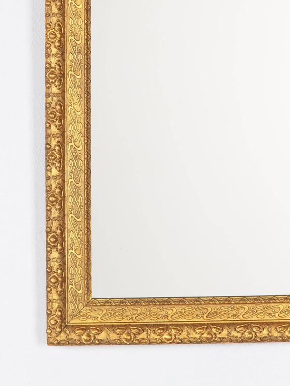 French Napoleon III Giltwood Mirror, circa 1870s For Sale 1