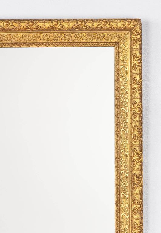 19th Century French Napoleon III Giltwood Mirror, circa 1870s For Sale