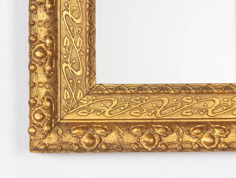 French Napoleon III Giltwood Mirror, circa 1870s For Sale 3