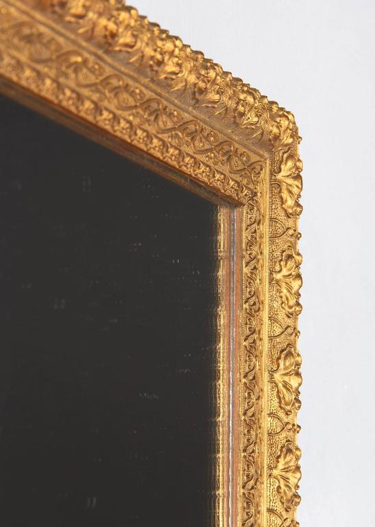 French Napoleon III Giltwood Mirror, circa 1870s For Sale 5