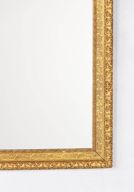 French Napoleon III Giltwood Mirror, circa 1870s For Sale 2