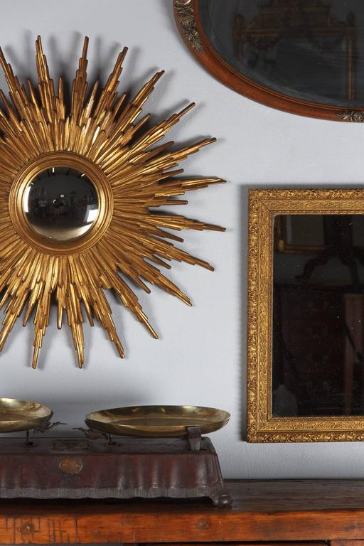 French Napoleon III Giltwood Mirror, circa 1870s For Sale 6