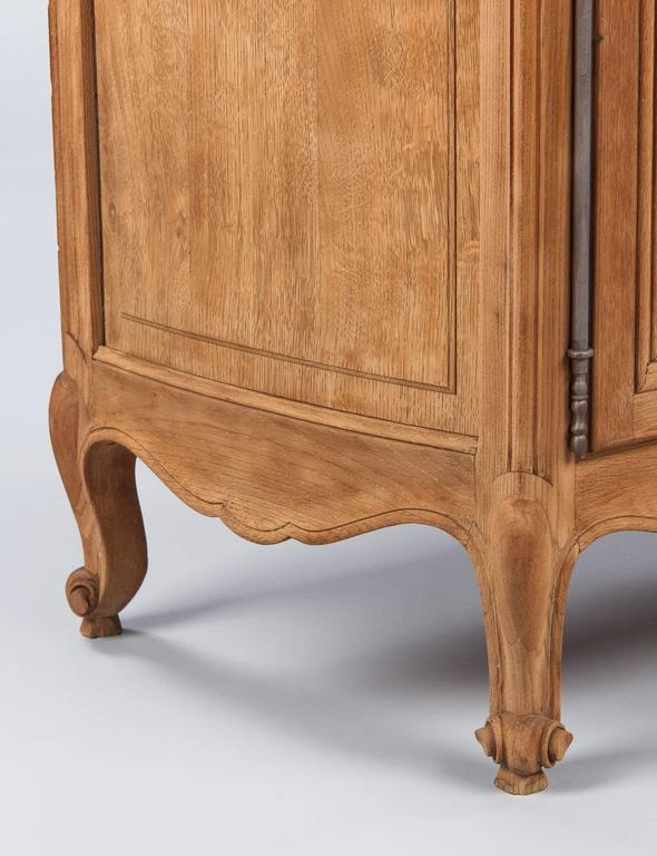 Louis XV Style Marble-Top Natural Oak Buffet, circa 1920s 9