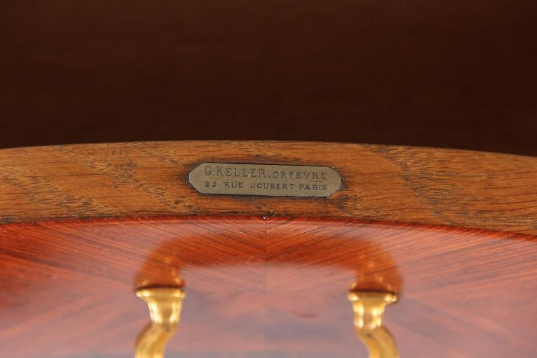 Louis XVI Style Vanity Table Stamped Gustave Keller, 1890s For Sale 2