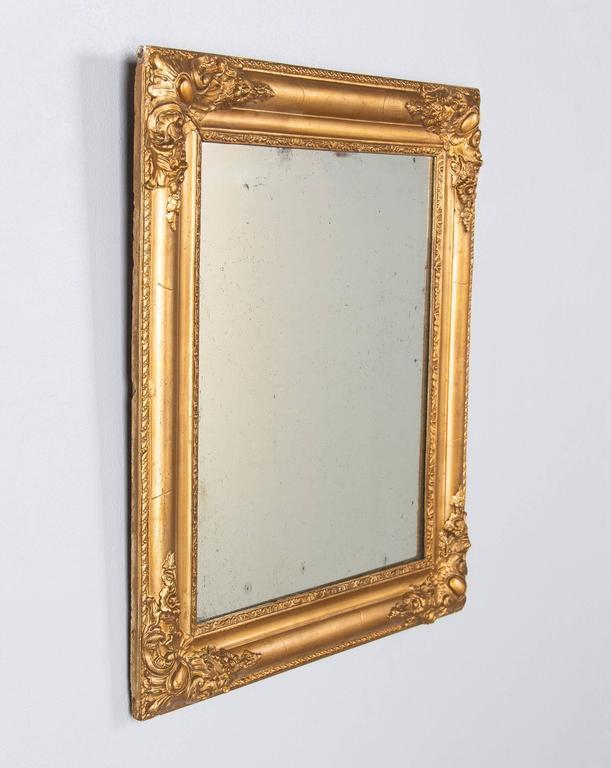 French Napoleon III Giltwood Mirror, circa 1870s For Sale 3