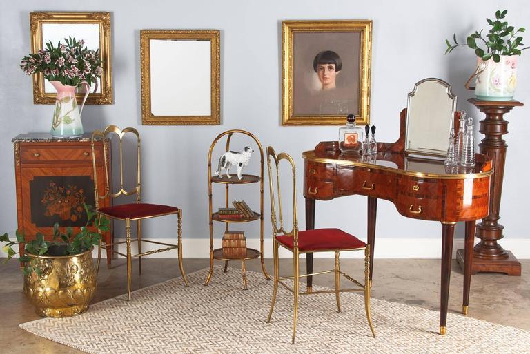 French Napoleon III Giltwood Mirror, circa 1870s For Sale 6