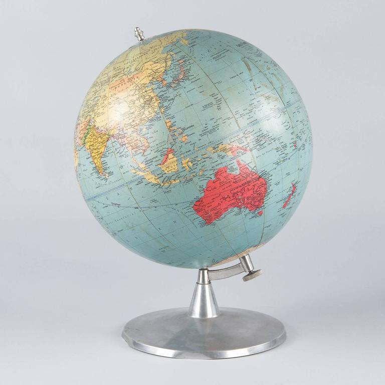 Terrestrial Globe, France, 1960s For Sale 1