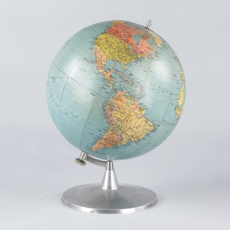 Terrestrial Globe, France, 1960s For Sale 2