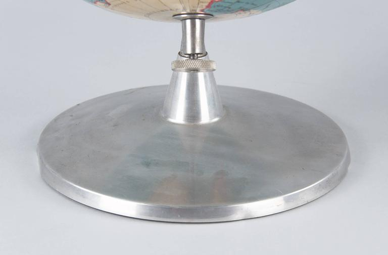 Mid-20th Century Terrestrial Globe, France, 1960s For Sale