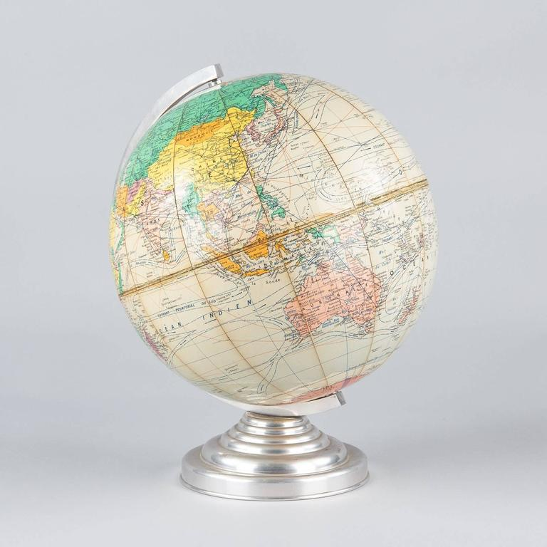 Terrestrial Globe, France, 1960s For Sale 4