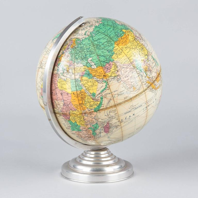 Terrestrial Globe, France, 1960s For Sale 3