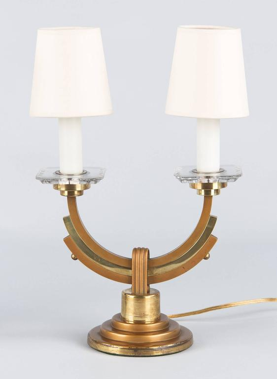 Pair of French Art Deco Lamps, 1930s 3