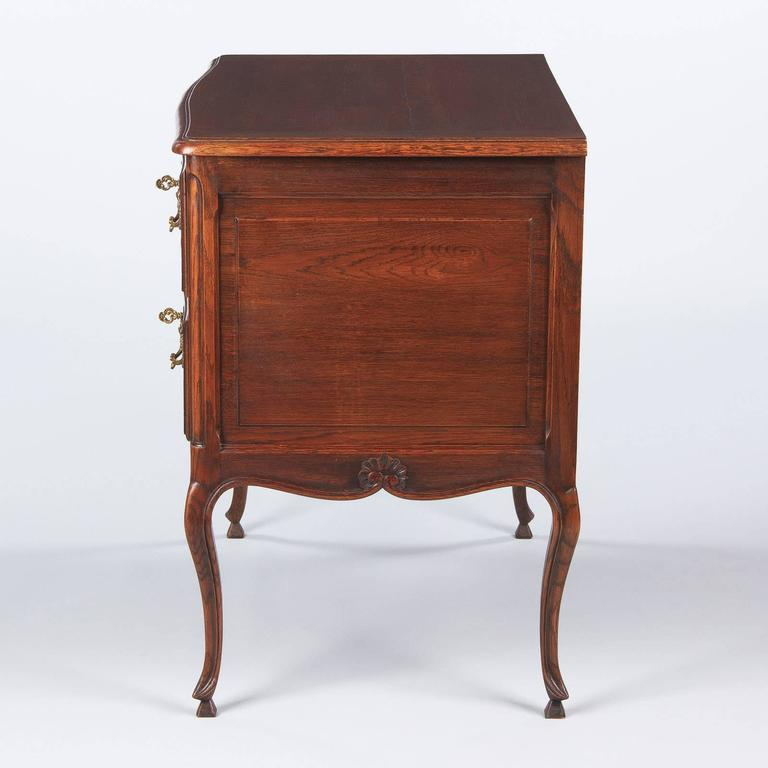 Louis XV Provençal Style Oak Chest of Drawers, Early 1900s 8