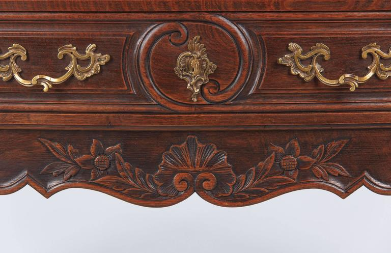 Louis XV Provençal Style Oak Chest of Drawers, Early 1900s 6
