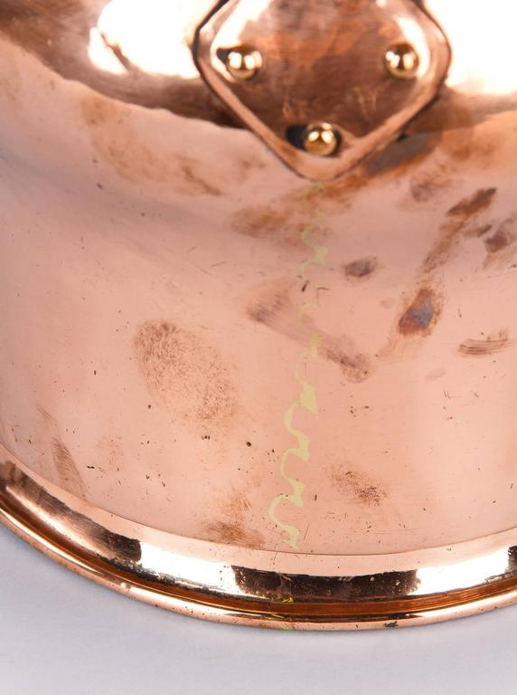 French 19th Century Copper Bucket For Sale 4