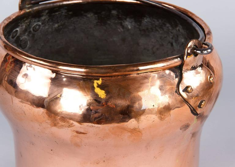 French 19th Century Copper Bucket 6