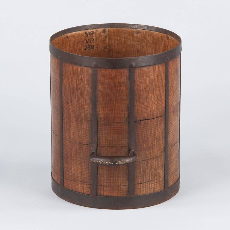 19th Century French Oak Grain Measure 8