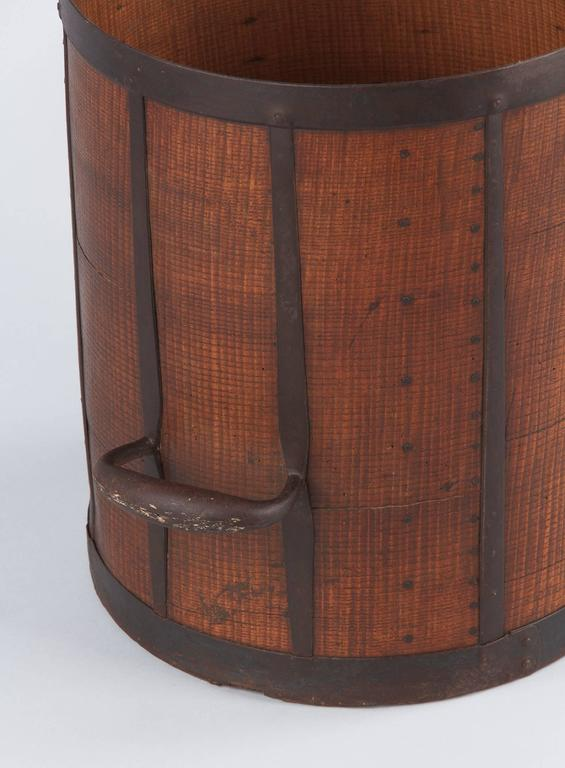 19th Century French Oak Grain Measure 5