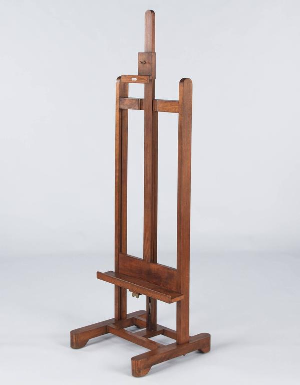 French Art Easel by Lefranc, Paris, 1900s 9