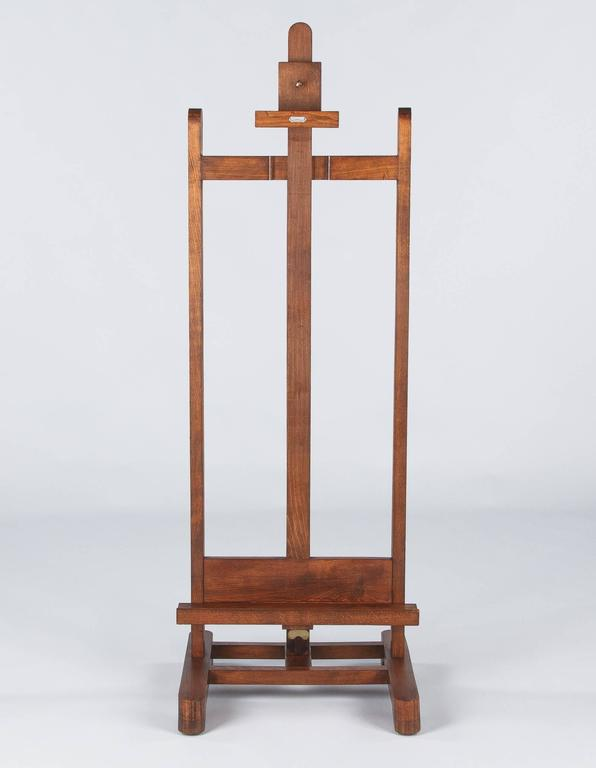 French Art Easel by Lefranc, Paris, 1900s 8
