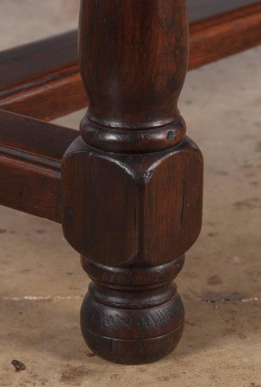 19th Century French Oak Farm Table For Sale 4
