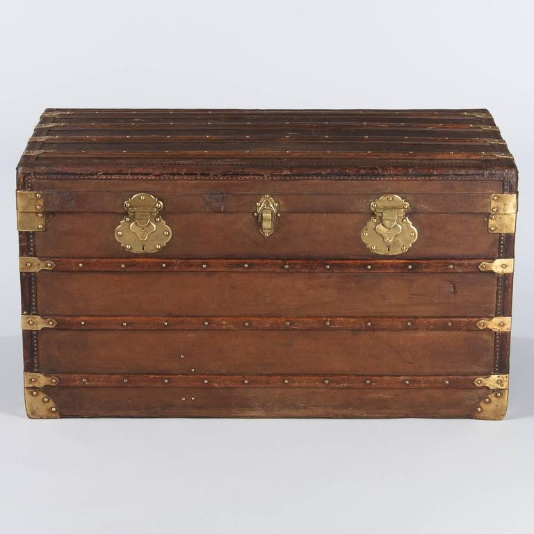 French Traveling Trunk, Early 1900s 3