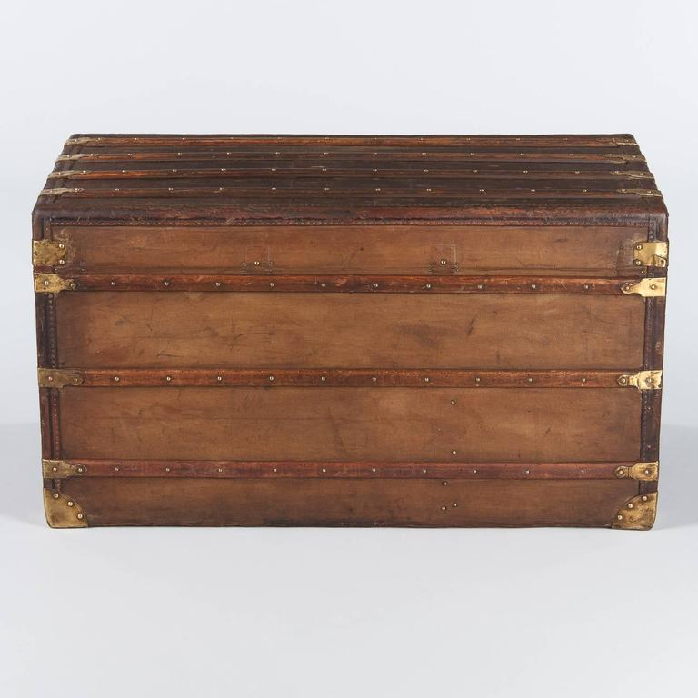 French Traveling Trunk, Early 1900s For Sale 4