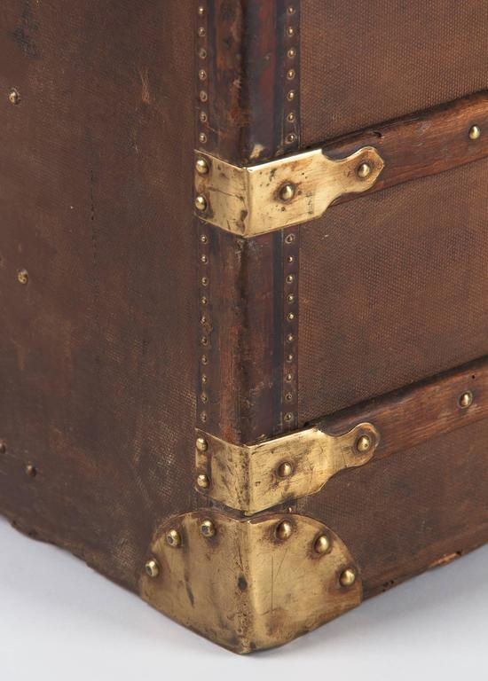 French Traveling Trunk, Early 1900s 6