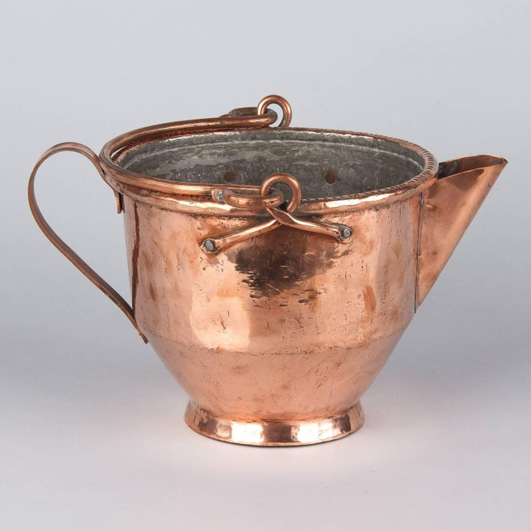 French Copper Wine Pitcher, Burgundy Region, 1900s For Sale 5