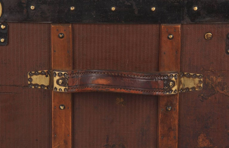 French Traveling Trunk, Early 1900s For Sale 11