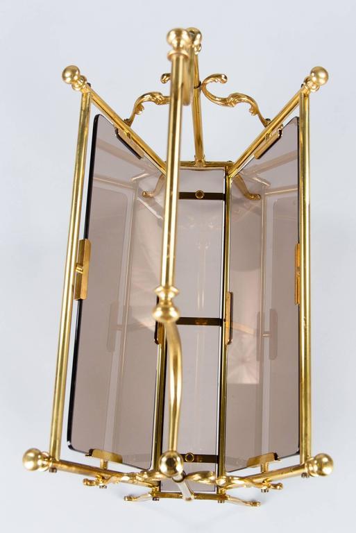 French Midcentury Brass Magazine Holder 4