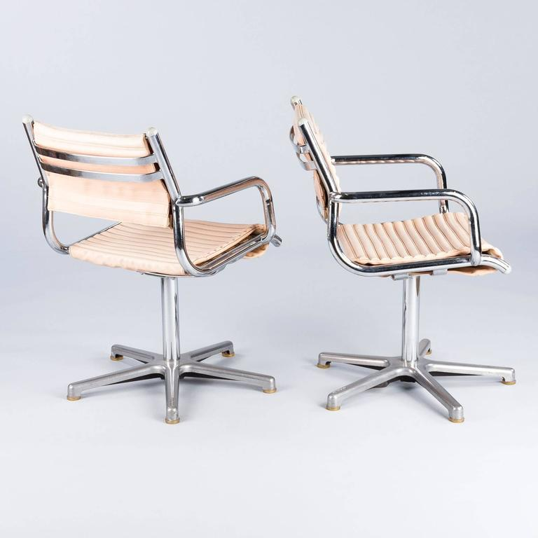 Pair Of 1970s Chrome Armchairs By Olymp Germany For Sale