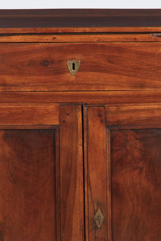 19th Century French Louis Philippe Walnut Buffet For Sale 6