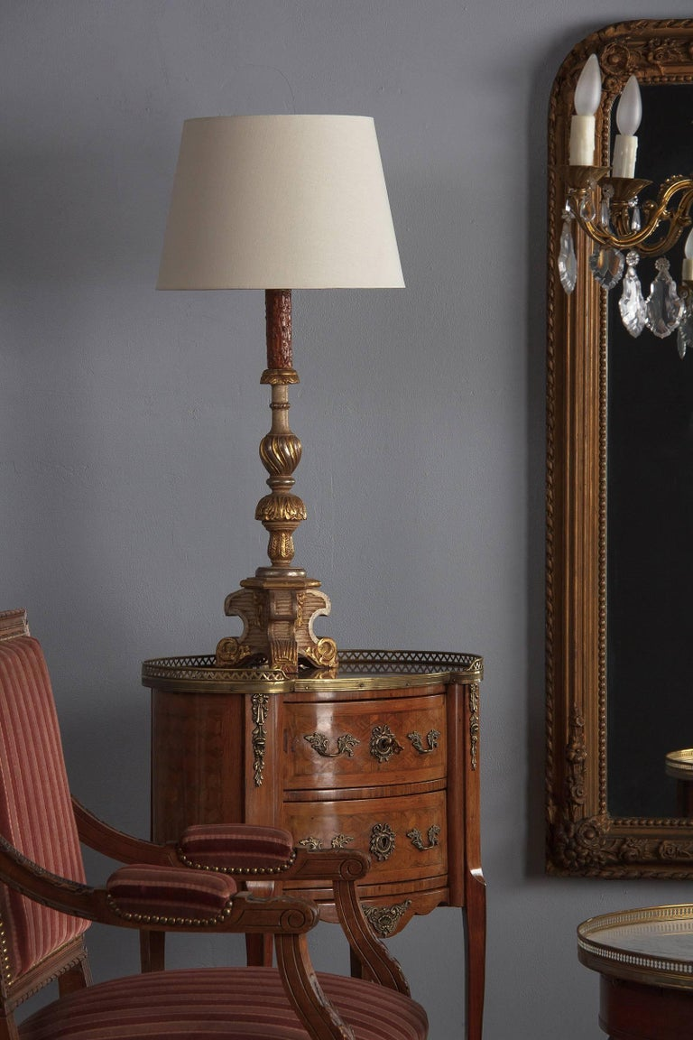 Louis XV-Louis XVI Transition Marquetry Chest with Marble Top, 1900s For Sale 12