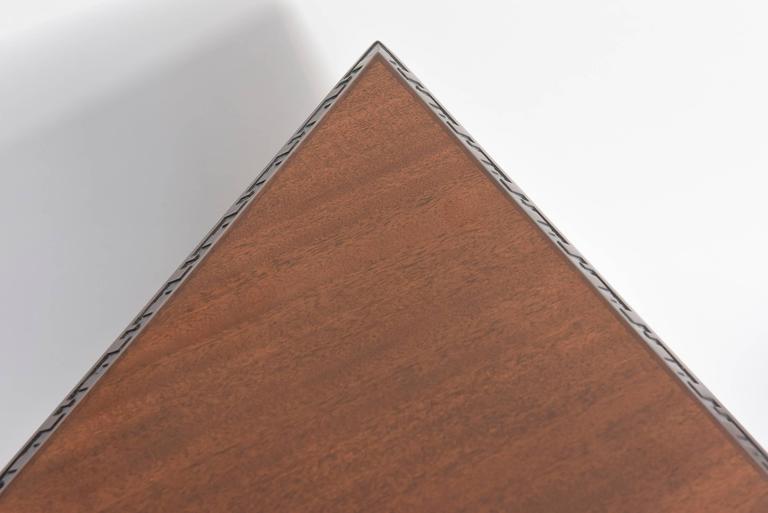 "Pair of American Modern Triangular ""Talesin"" Low Tables, Frank Lloyd Wright 7"