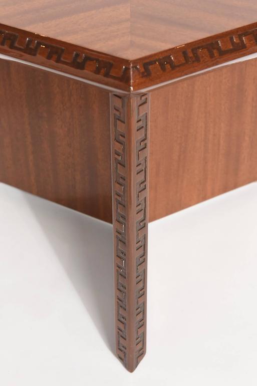 "American Modern ""Taliesin"" Hexagonal Low Table, Frank Lloyd Wright 3"