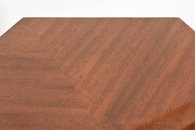 "American Modern ""Taliesin"" Hexagonal Low Table, Frank Lloyd Wright 4"