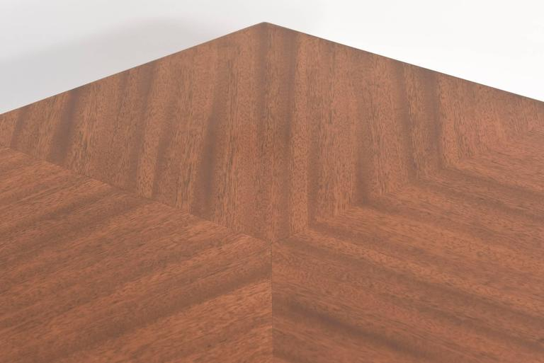 "American Modern ""Taliesin"" Hexagonal Low Table, Frank Lloyd Wright 6"