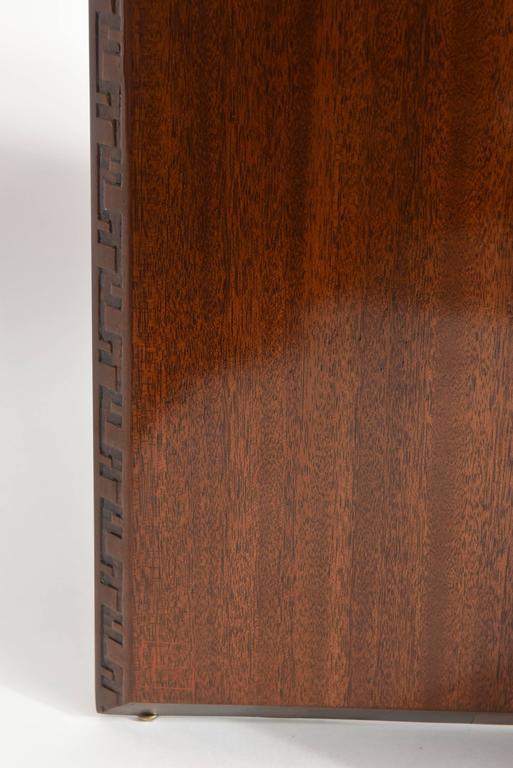 "American Modern ""Taliesin"" Hexagonal Low Table, Frank Lloyd Wright 7"