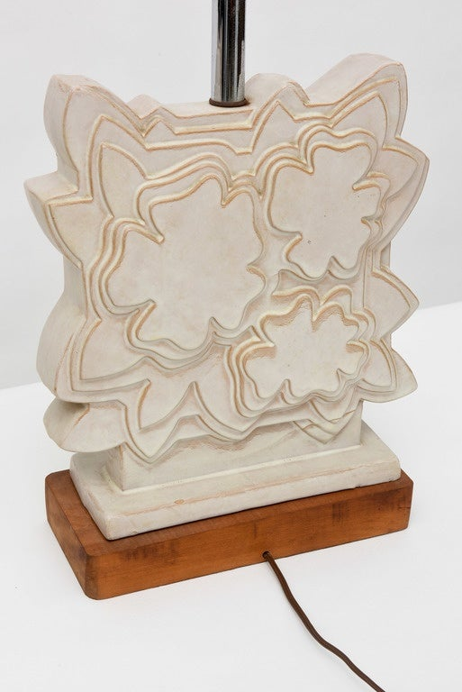 Pair of Italian Modern Ceramic Lamps, Raymor For Sale 4