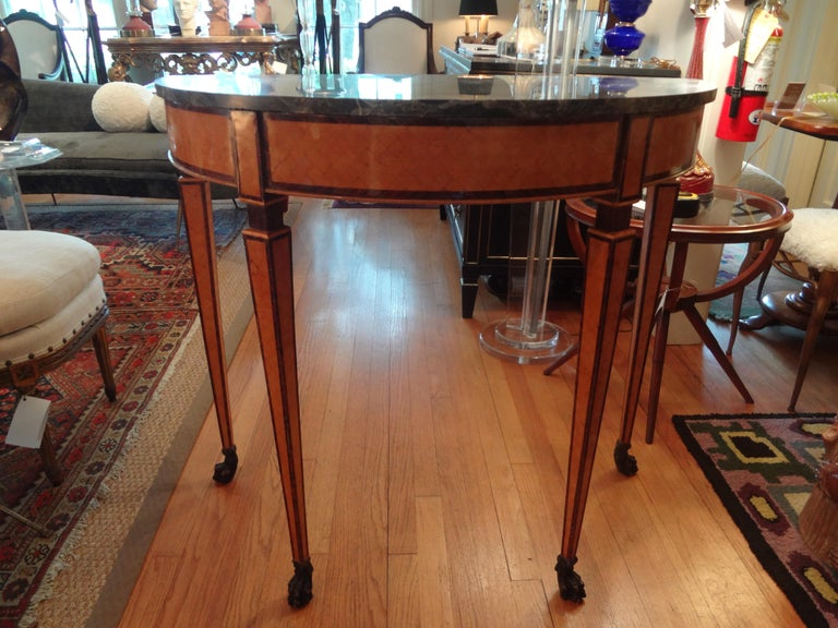 Pair of 19th Century Italian Neoclassical Style Console Tables In Excellent Condition For Sale In Houston, TX