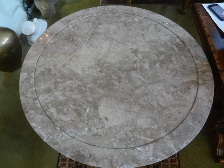 19th Century French Charles X Period Center Table or Gueridon For Sale 2