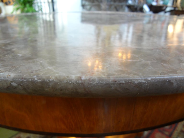 19th Century French Charles X Period Center Table or Gueridon For Sale 3