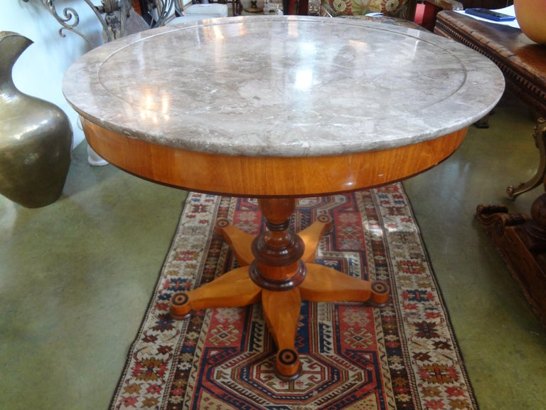 19th Century French Charles X Period Center Table or Gueridon For Sale 4
