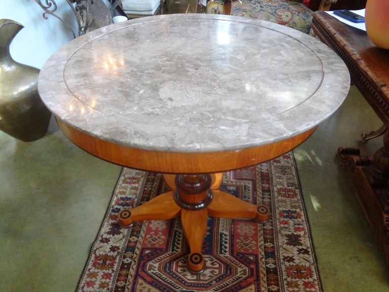 19th Century French Charles X Period Center Table or Gueridon For Sale 5