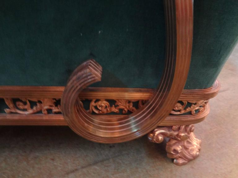 Early 20th Century French Art Deco Bronze Chair, circa 1925